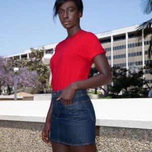 American Apparel UNISEX FINE JERSEY SHORT SLEEVE T-SHIRT Pólók/T-Shirt