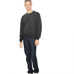 American Apparel UNISEX FRENCH TERRY GARMENT DYED CREW Pulóverek