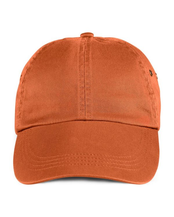 Burnt Orange Anvil SOLID LOW-PROFILE TWILL CAP Sapkák