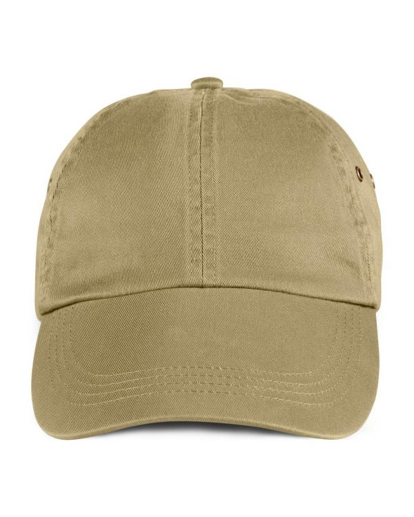Khaki Anvil SOLID LOW-PROFILE TWILL CAP Sapkák