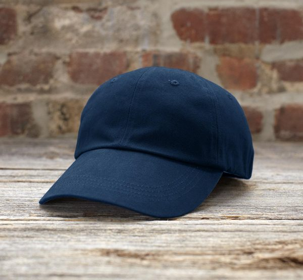 Anvil SOLID LOW-PROFILE BRUSHED TWILL CAP Sapkák