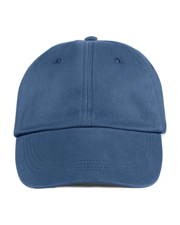 Navy Anvil SOLID LOW-PROFILE BRUSHED TWILL CAP Sapkák