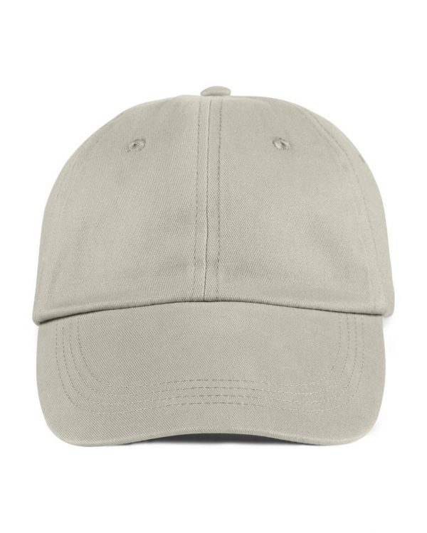 Wheat Anvil SOLID LOW-PROFILE BRUSHED TWILL CAP Sapkák