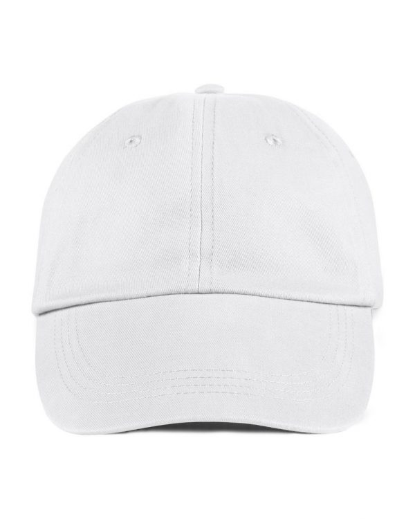 White Anvil SOLID LOW-PROFILE BRUSHED TWILL CAP Sapkák