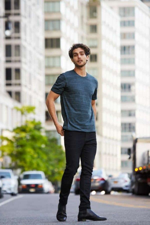 Anvil ADULT TRI-BLEND ID TEE Pólók/T-Shirt