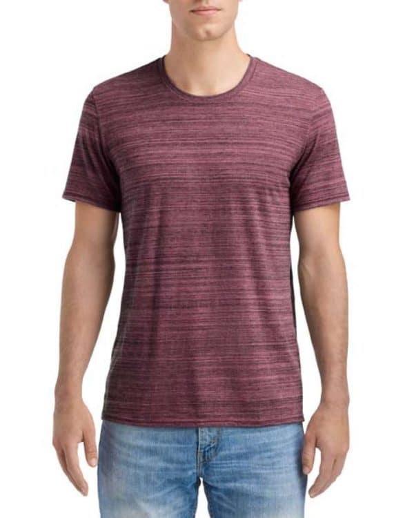 ID Maroon Anvil ADULT TRI-BLEND ID TEE Pólók/T-Shirt
