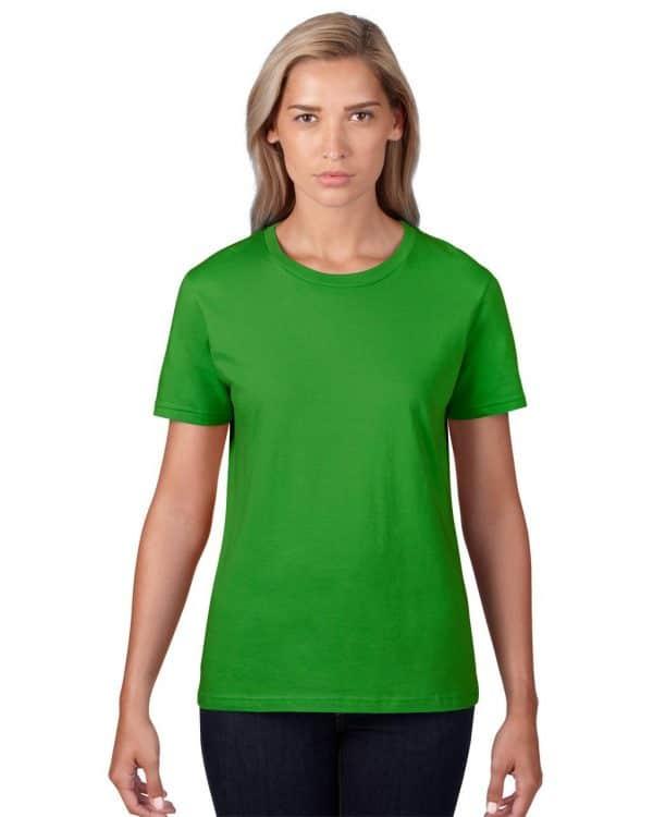 Green Apple Anvil WOMEN'S LIGHTWEIGHT TEE Pólók/T-Shirt