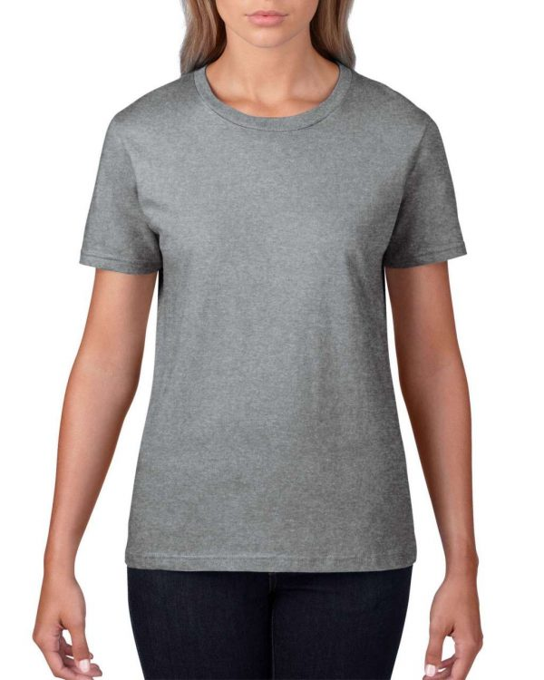 Heather Graphite Anvil WOMEN'S LIGHTWEIGHT TEE Pólók/T-Shirt