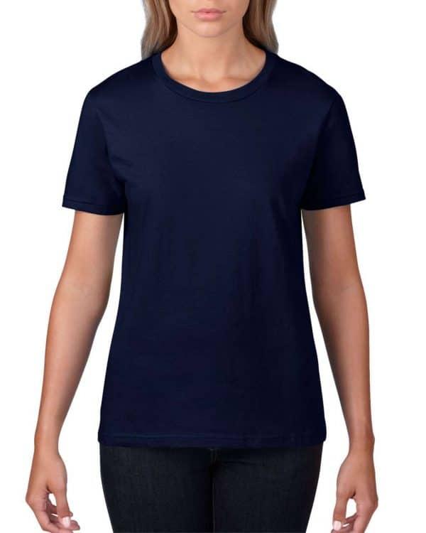 Navy Anvil WOMEN'S LIGHTWEIGHT TEE Pólók/T-Shirt