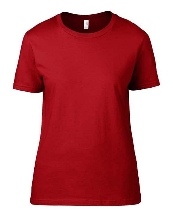 Red Anvil WOMEN'S LIGHTWEIGHT TEE Pólók/T-Shirt