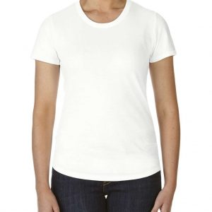 White Anvil WOMEN'S TRI-BLEND TEE Pólók/T-Shirt