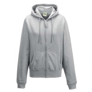Heather Grey Just Hoods GIRLIE ZOODIE Pulóverek