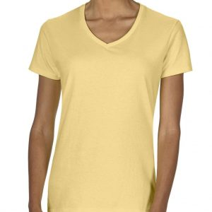 Butter Comfort Colors LADIES' MIDWEIGHT V-NECK TEE Pólók/T-Shirt