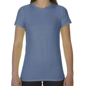 Blue Jean Comfort Colors LADIES' LIGHTWEIGHT FITTED TEE Pólók/T-Shirt