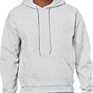 Ash Gildan HEAVY BLEND™ ADULT HOODED SWEATSHIRT Pulóverek