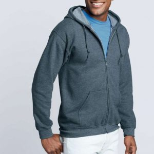Gildan HEAVY BLEND™ ADULT FULL ZIP HOODED SWEATSHIRT Pulóverek