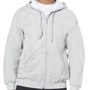 Ash Gildan HEAVY BLEND™ ADULT FULL ZIP HOODED SWEATSHIRT Pulóverek