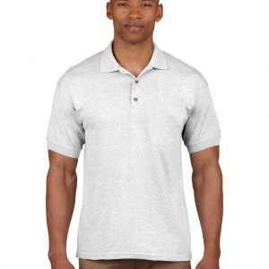 Ash Grey Gildan ULTRA COTTON™ ADULT PIQUE POLO SHIRT Galléros pólók