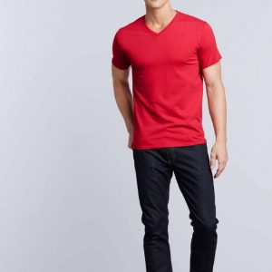 Gildan PREMIUM COTTON® ADULT V-NECK T-SHIRT Pólók/T-Shirt