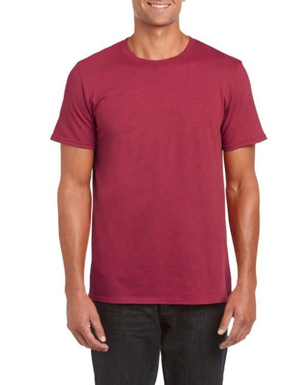 Antique Cherry Red Gildan SOFTSTYLE® ADULT T-SHIRT Pólók/T-Shirt