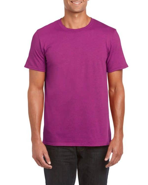 Antique Heliconia Gildan SOFTSTYLE® ADULT T-SHIRT Pólók/T-Shirt