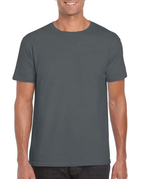 Charcoal Gildan SOFTSTYLE® ADULT T-SHIRT Pólók/T-Shirt