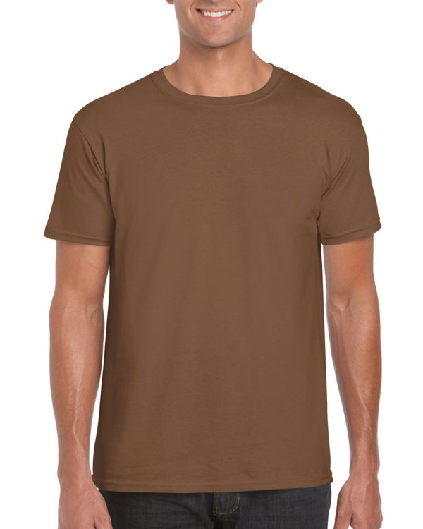 Chestnut Gildan SOFTSTYLE® ADULT T-SHIRT Pólók/T-Shirt