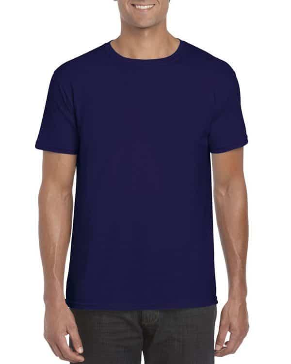 Cobalt Gildan SOFTSTYLE® ADULT T-SHIRT Pólók/T-Shirt