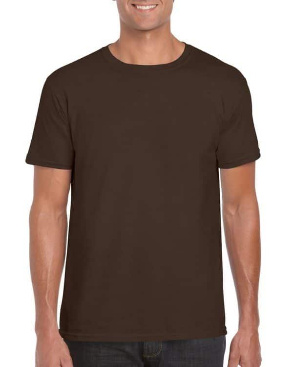 Dark Chocolate Gildan SOFTSTYLE® ADULT T-SHIRT Pólók/T-Shirt