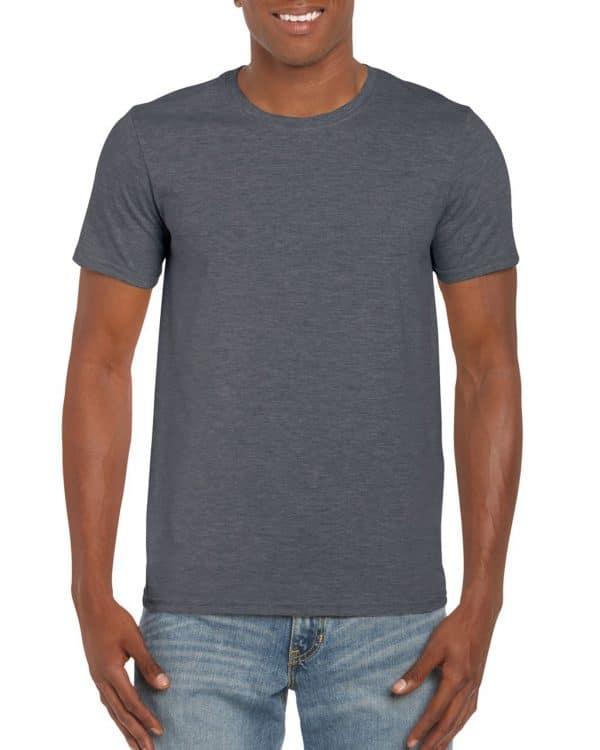 Dark Heather Gildan SOFTSTYLE® ADULT T-SHIRT Pólók/T-Shirt