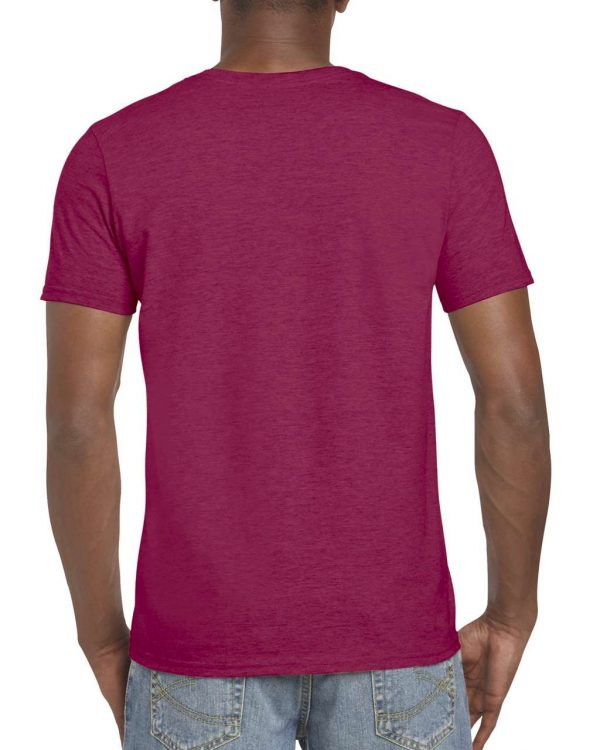 Heather Cardinal Gildan SOFTSTYLE® ADULT T-SHIRT Pólók/T-Shirt