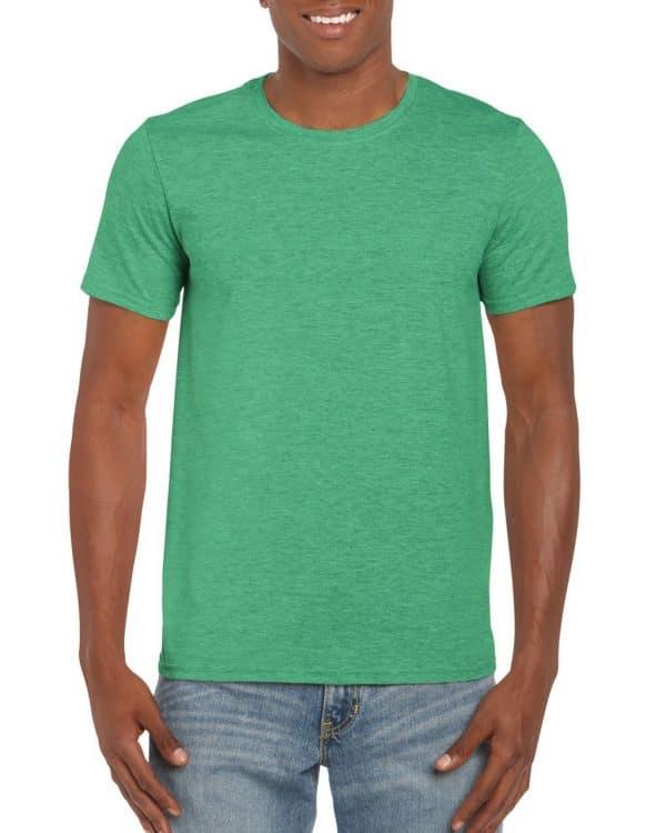 Heather Irish Green Gildan SOFTSTYLE® ADULT T-SHIRT Pólók/T-Shirt