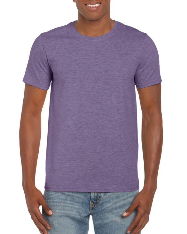 Heather Purple Gildan SOFTSTYLE® ADULT T-SHIRT Pólók/T-Shirt