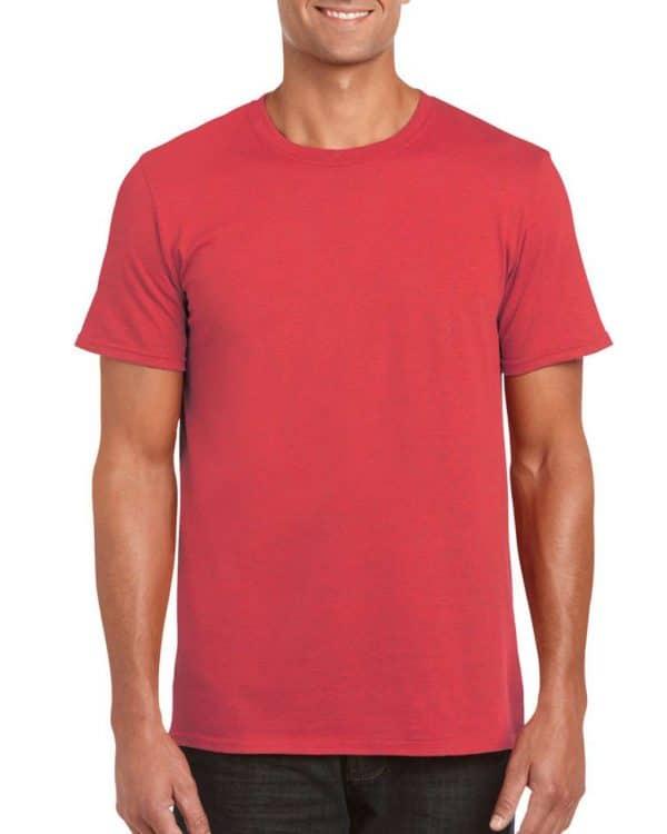 Heather Red Gildan SOFTSTYLE® ADULT T-SHIRT Pólók/T-Shirt