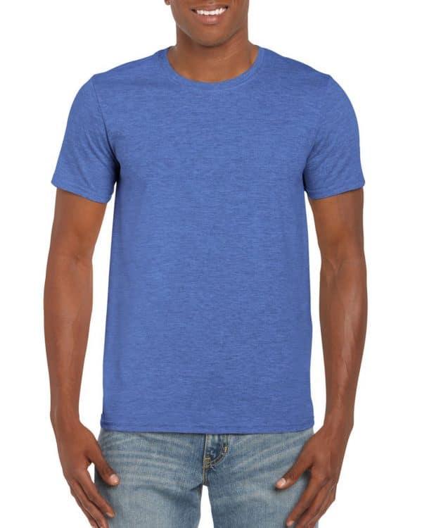 Heather Royal Gildan SOFTSTYLE® ADULT T-SHIRT Pólók/T-Shirt