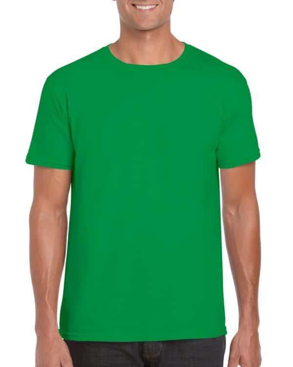 Irish Green Gildan SOFTSTYLE® ADULT T-SHIRT Pólók/T-Shirt