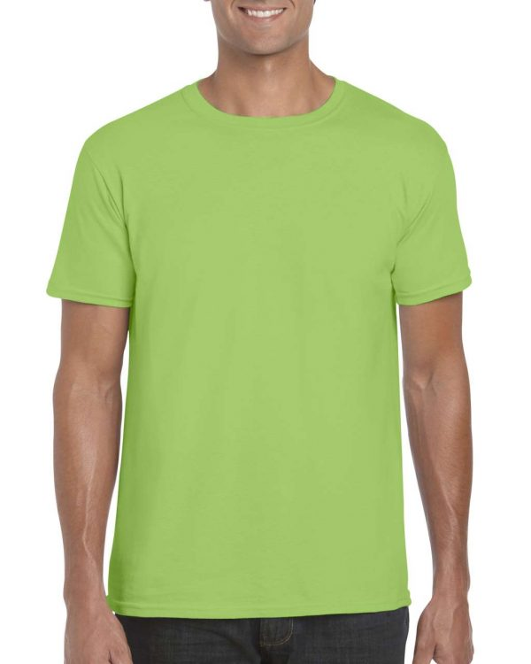 Lime Gildan SOFTSTYLE® ADULT T-SHIRT Pólók/T-Shirt