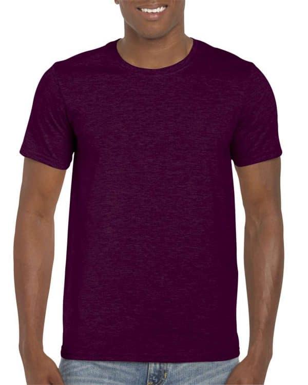 Maroon Gildan SOFTSTYLE® ADULT T-SHIRT Pólók/T-Shirt