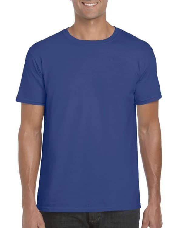 Metro Blue Gildan SOFTSTYLE® ADULT T-SHIRT Pólók/T-Shirt
