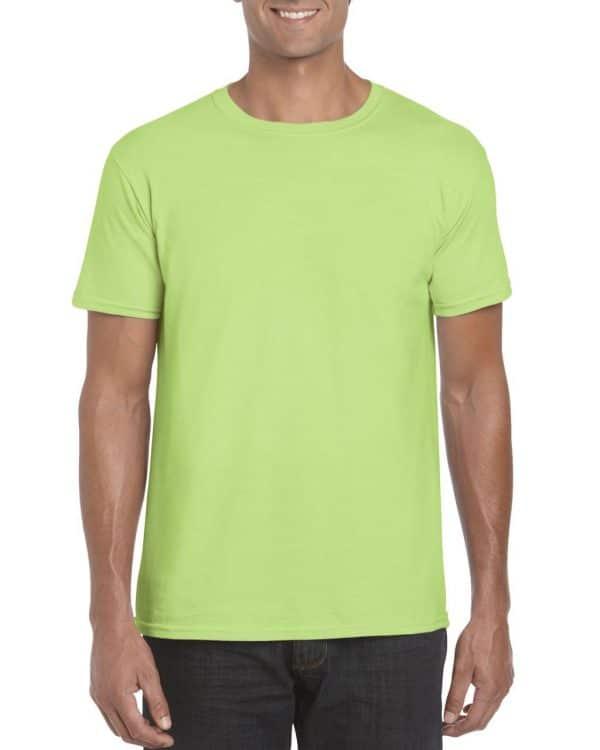 Mint Green Gildan SOFTSTYLE® ADULT T-SHIRT Pólók/T-Shirt