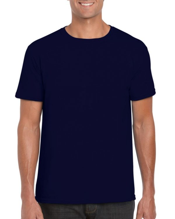 Navy Gildan SOFTSTYLE® ADULT T-SHIRT Pólók/T-Shirt