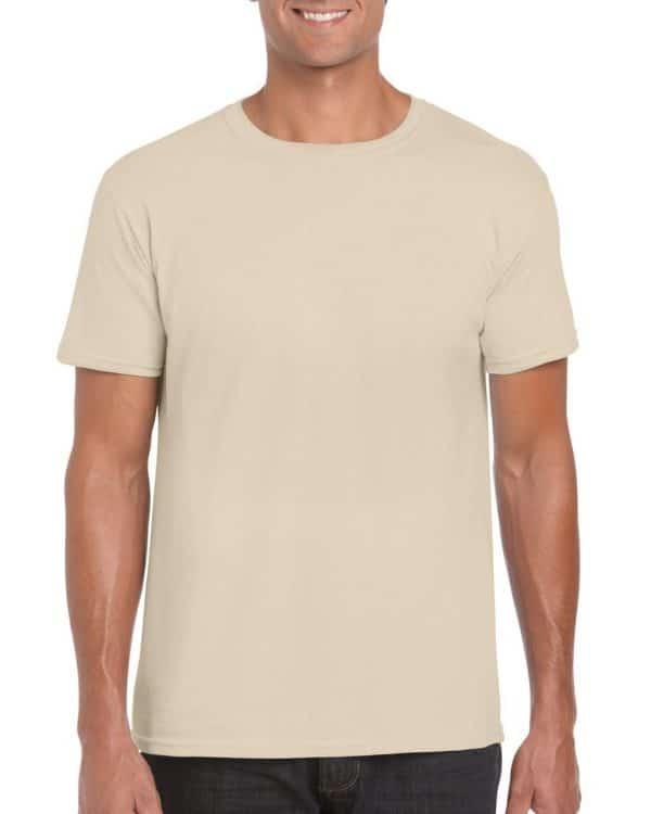 Sand Gildan SOFTSTYLE® ADULT T-SHIRT Pólók/T-Shirt