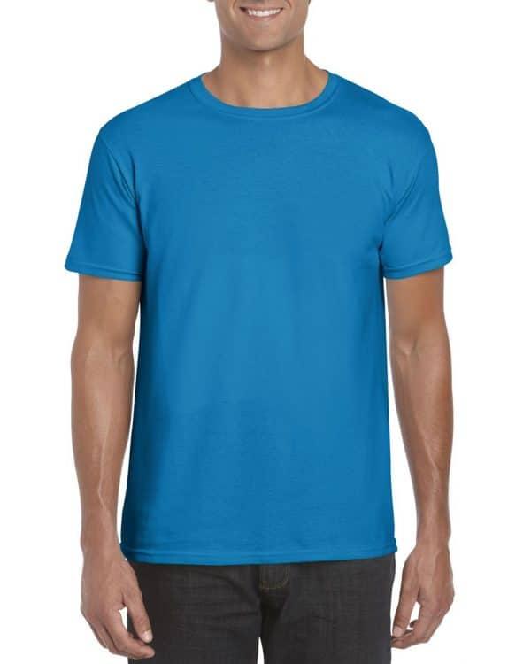 Sapphire Gildan SOFTSTYLE® ADULT T-SHIRT Pólók/T-Shirt