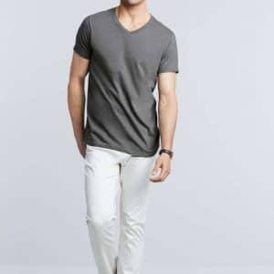 Gildan SOFTSTYLE® ADULT V-NECK T-SHIRT Pólók/T-Shirt