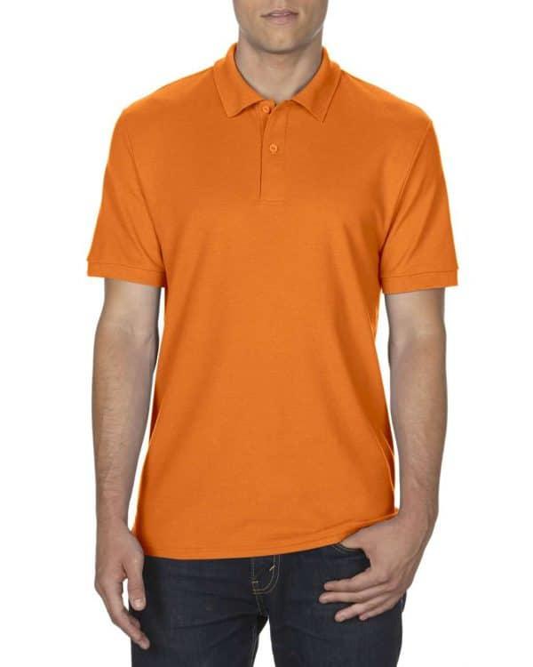 S.Orange Gildan DRYBLEND® ADULT DOUBLE PIQUÉ POLO Galléros pólók