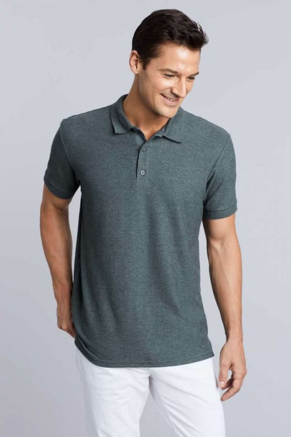 Gildan PREMIUM COTTON® ADULT DOUBLE PIQUÉ POLO Galléros pólók