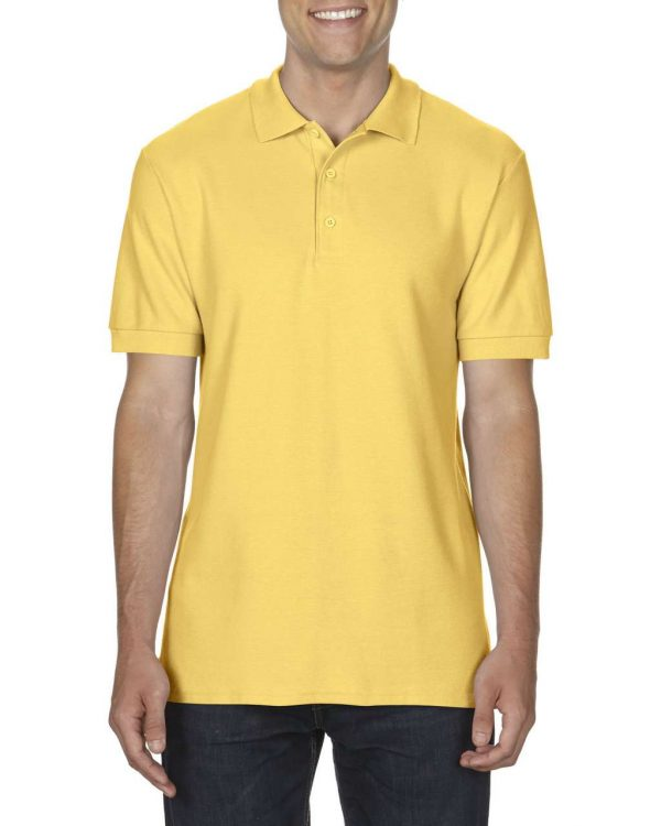 Daisy Gildan PREMIUM COTTON® ADULT DOUBLE PIQUÉ POLO Galléros pólók