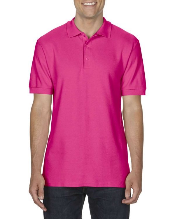 Heliconia Gildan PREMIUM COTTON® ADULT DOUBLE PIQUÉ POLO Galléros pólók