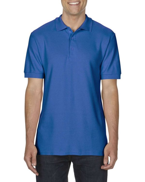 Royal Gildan PREMIUM COTTON® ADULT DOUBLE PIQUÉ POLO Galléros pólók