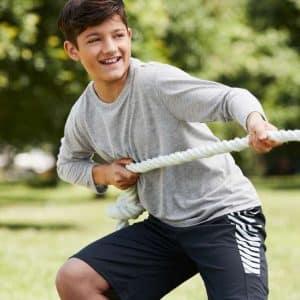 Gildan PERFORMANCE® YOUTH LONG SLEEVE T-SHIRT Gyermek ruházat